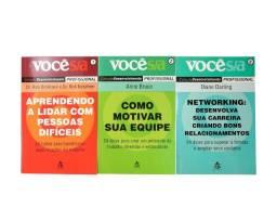 Desenvolvimento Pessoal E Profissional - 3 Livros