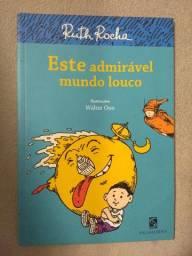 Livro Este admirável mundo louco - Ruth Rocha