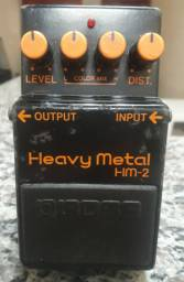 Pedal boss heavy metal hm2 made in japan rarissimo
