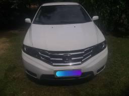 Honda City 1.5 LX automático Banco de Couro gasolina/álcool/GNV 5 Geração