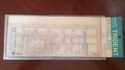 Gabarito desenho Trident - Fluxogramas / Eletro eletrônica - Modelo E-4
