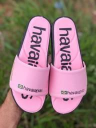 Sandalha tenho vários modelos