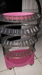 Estufa e suporte para esmaltes