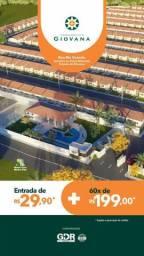 119 cond Giovana casas a partir de 125.000 com 2 quartos!!!.