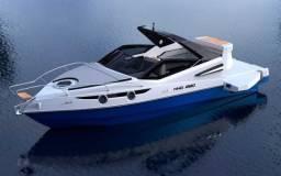 Título do anúncio: Lancha NHD 270 open - 27 pés - Ñ e Ventura/NX/Triton/Focker