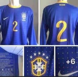 Camisa seleção brasileira de jogo G 77x55