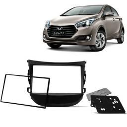 Título do anúncio: Moldura Dvd 2din Hyundai HB20 Hb20s Hb20x 2013 - 2017