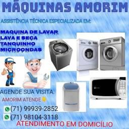 MÁQUINAS AMORIM. assistência técnica!