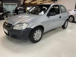 Chevrolet Celta Life 1.0 2P Impecável Baixo Km Prata 2007