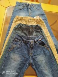 Calças de menino tamanho 8