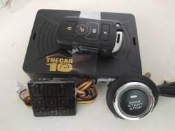 Alarme Start-stop partida no controle Cardot