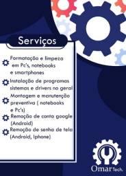 Serviços de informática (Leia a descrição completa!!)