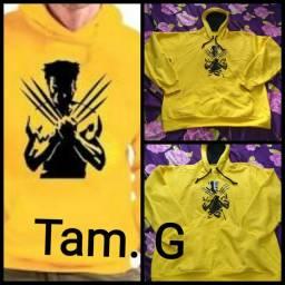 Blusa c capuz Wolverine Tam. G
