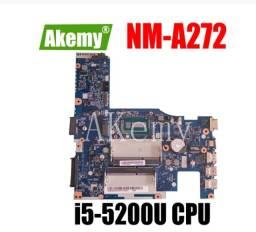Placa mãe note Lenovo G40-80 i5-5200U NovA