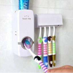 Dispenser de Pasta dental +  Suporte de escovas