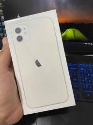 Iphone 11  128gb branco lacrado e com nota fiscal