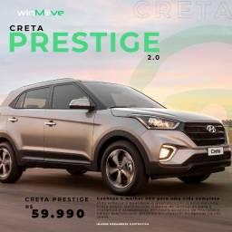 Creta Prestige 2.0 (Apenas R$ 59.990,00 e c/ CashBack) Leia o anúncio!