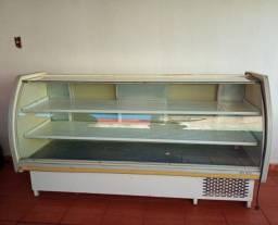 Freezer/Balcão expositor refrigerado horizontal Gelopar