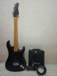 Título do anúncio: Guitarra Strato Memphis Castle  ( leia o anúncio )