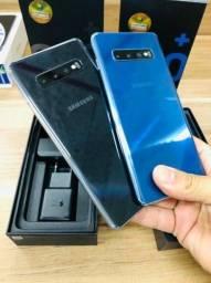 [June/17] - Samsung S10+ Preto & Azul
