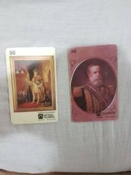 Cartões telefônicos colecionáveis - 400 unidades