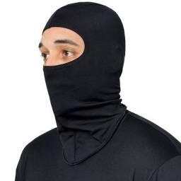 Touca  balaclavas ninja motoqueiro ciclista trabalho no sol etc
