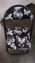 Título do anúncio: Cadeira preta de ferro