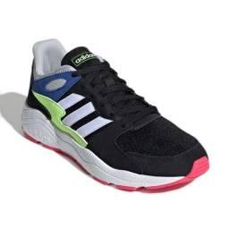 Tenis adidas chaos colorway - cores unicas - 44 - seminovo