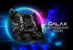 Placa mãe Galax B550M Amd  Socket AM4
