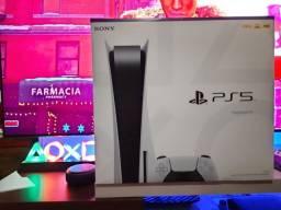 Console, Sony, Playstation 5, com leitor jogos, PS5, lacrado, Nota e garantia de 1 ano