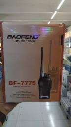 Kit rádio comunicador baofeng profissonal
