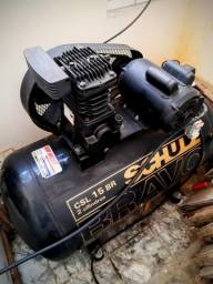 Compressor Schulz Bravo CSL 15BR 180 litros