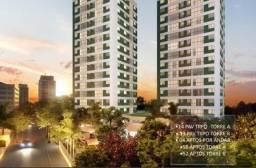 Título do anúncio: (L)Qualidade Pernambuco construtora - Tamarineira Prince 2 quartos 50m²