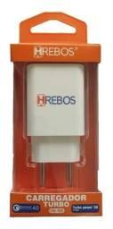 Título do anúncio: Carregador Hrebos Turbo Power 1 Usb 6.0a Qc4.0