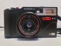 Câmera Fotográfica Antiga Yashica Mf-3 Super Analógica