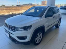 Jeep compas Sport 2.0 automático 4x4 branco 2017/2018