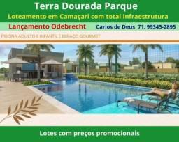 Título do anúncio: Venha conhecer : Terra Dourada Parque , super  Loteamento Odebrecht   em Camaçari
