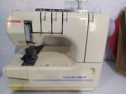 Máquina de costura JANOME GALONEIRA