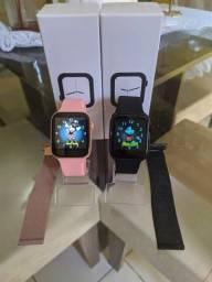Smartwatch T500 + Pulseira Milanesa [Entrega Gratis]
