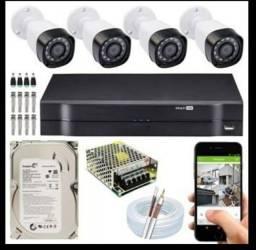Câmeras de segurança instalamos e aceitamos cartões c/acréscimo faça o seu orçamento.
