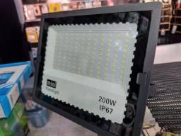 Super refletor de led 200w completo a prova de água ip67