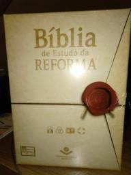 Bíblia de Estudo da Reforma em promoção