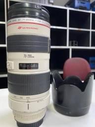 Lente Canon 70/200 2.8 Ultrasonic