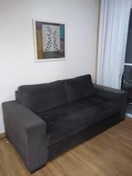 Título do anúncio: Vendo sofá 3 lugares novo muito conservado