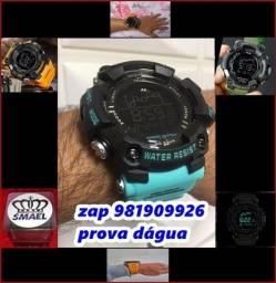 relógio azul bb
