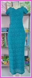Lindo vestido, para festas, eventos, casamentos, igreja.