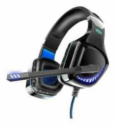Headphone Gamer Led C/ Fio Pc Jogo Fone De Ouvido