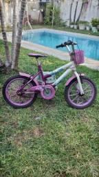 Título do anúncio: Bicicleta aro 16 menina