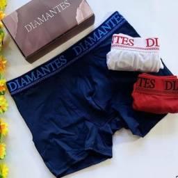 Cuecas diamantes lingerie
