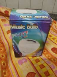 Título do anúncio: Lâmpada musical bluetooth